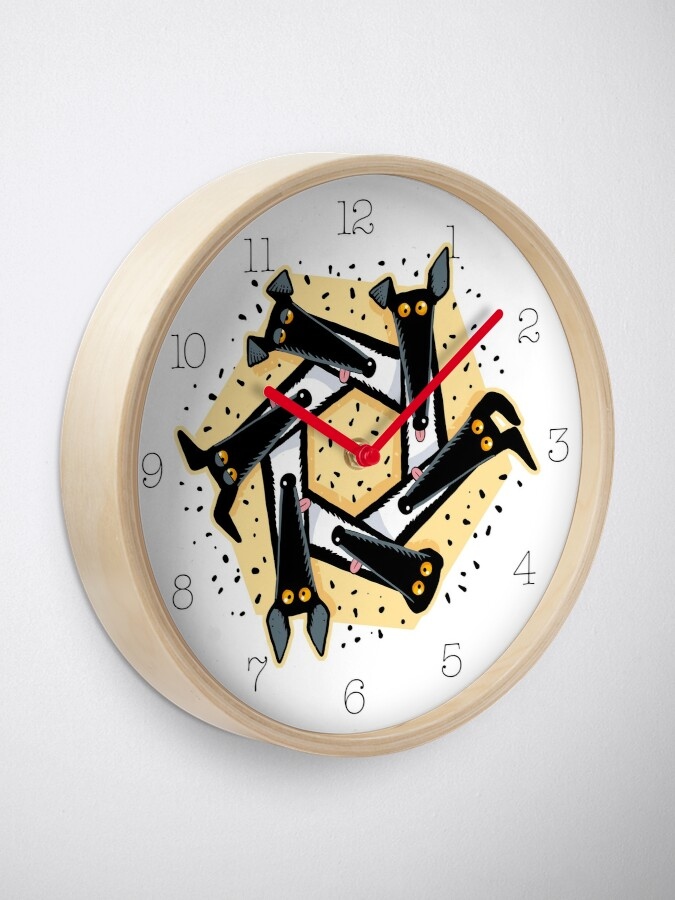 Alternate view of Derpagon Clock