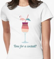 Coctail Womens Fitted T-Shirt