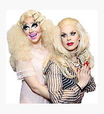 trixie and katya Photographic Print