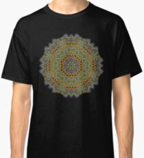 Psychedelic jungle kaleidoscope ornament 12 Classic T-Shirt
