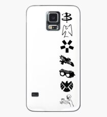 Whedonverse Logos Case/Skin for Samsung Galaxy