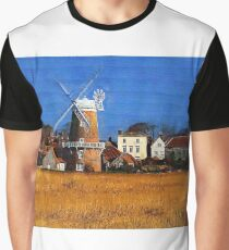 Cley Windmill Graphic T-Shirt