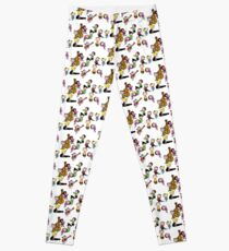 A Charlie Brown Christmas Dance Leggings