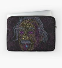 Acid Scientist tongue out psychedelic art poster Laptop Sleeve