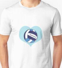 Volleyball Love Unisex T-Shirt