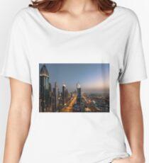 Dubai Sheikh Zayed road Women's Relaxed Fit T-Shirt