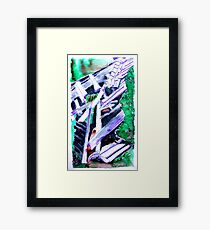 Storm Damaged Barn Framed Print
