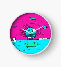 Surreal Planet - Mr Beaker Clock