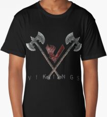 Vikings-ax logo Long T-Shirt