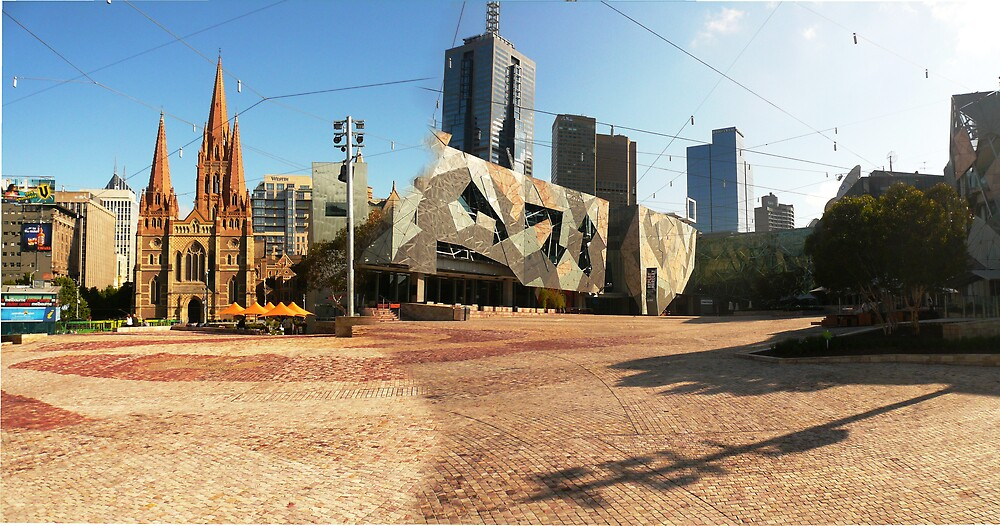 Federation Square by hadstr