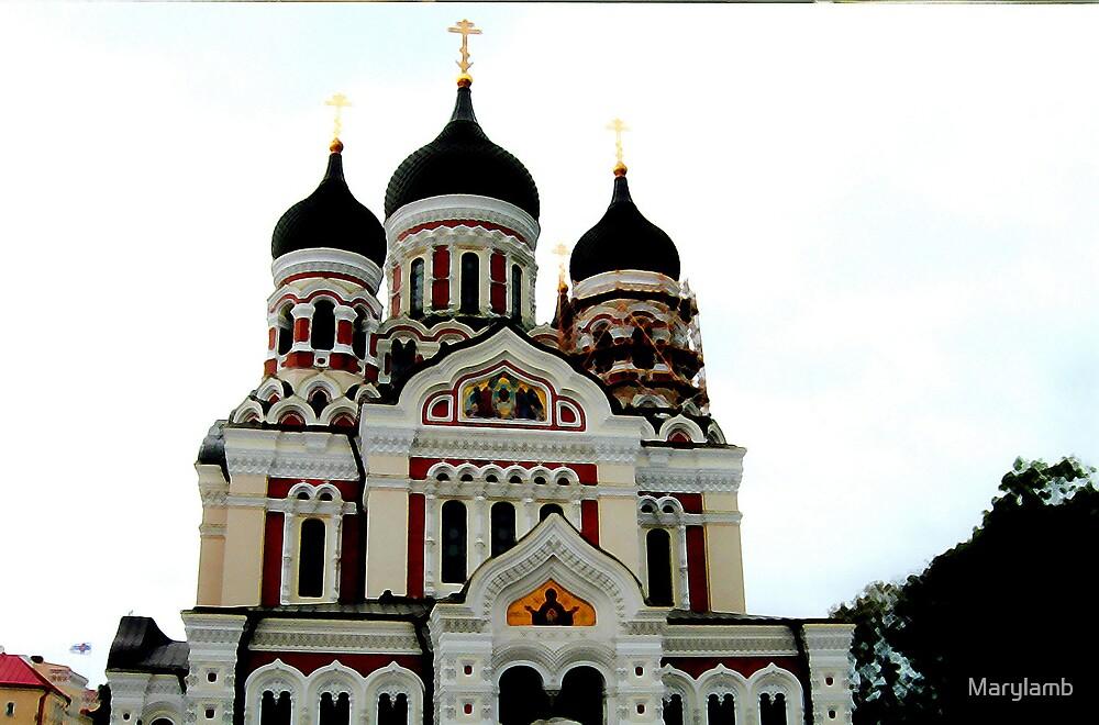 Alexander Nevski Cathedral, Tallinn, Estonia by Marylamb