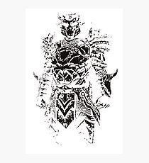 Knightrider of Doom Photographic Print