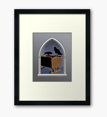 El regalo del rey Framed Print