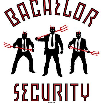 Bachelor Security Devils (Stag Party Night / 3C) by MrFaulbaum