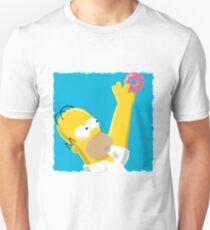 Simplistic Homer Simpson Unisex T-Shirt