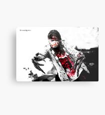 The gory daemon claws Metal Print