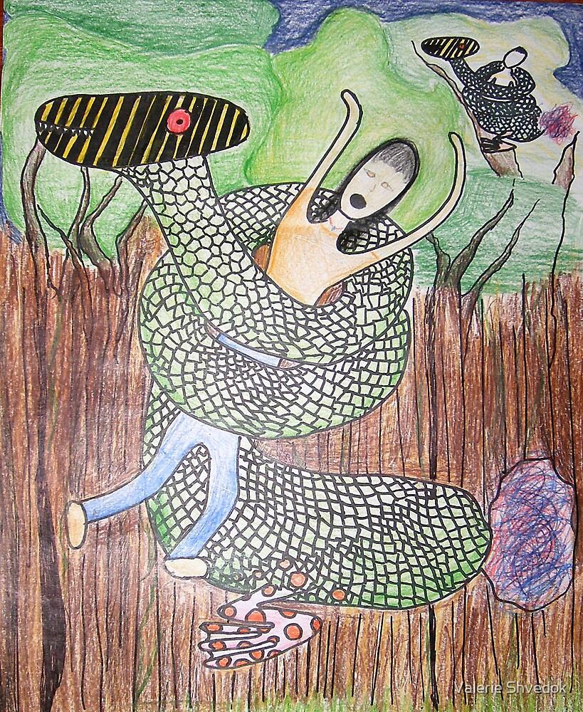 Oaxacan creature by Valerie Shvedok