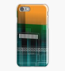 MANCHESTER Architectural Abstraction #01 iPhone Case/Skin