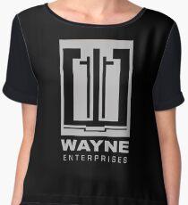 Wayne Enterprises Women's Chiffon Top