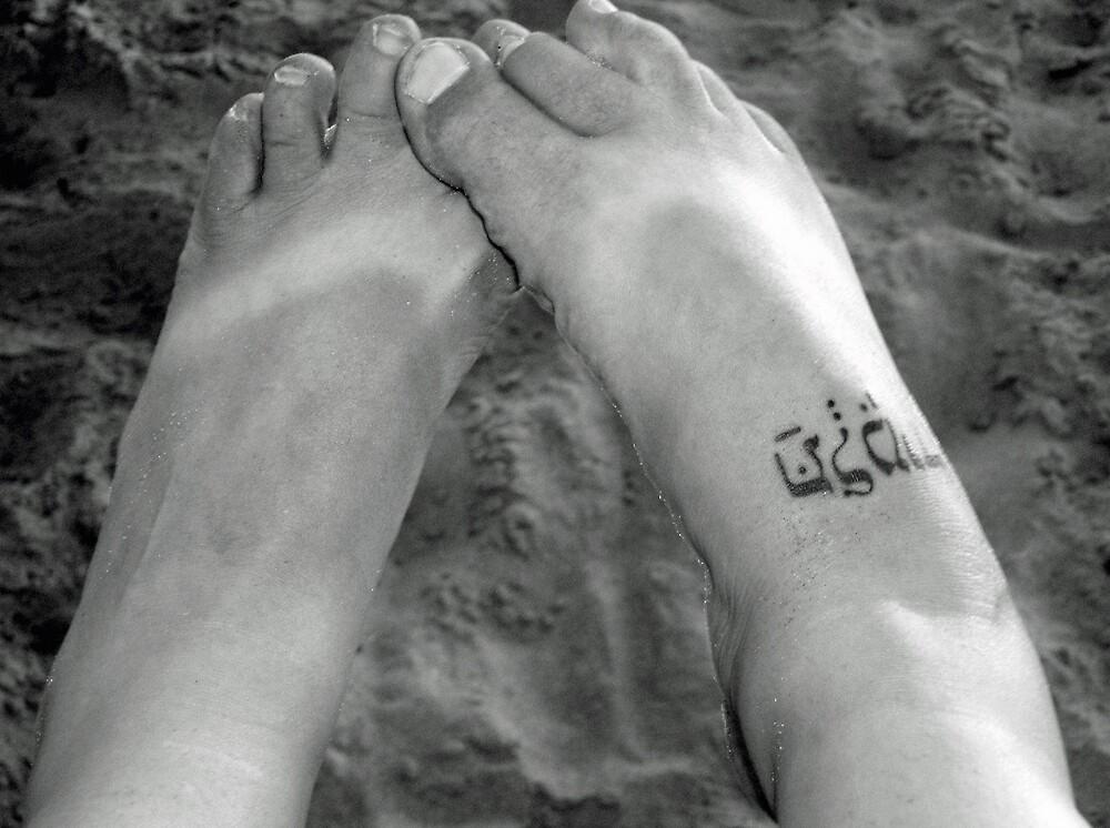 Sandy Feet by shawnathomas