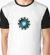 Tony Stark Heart Graphic T-Shirt