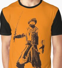 Pirate Warrior Graphic T-Shirt