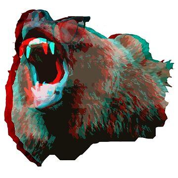 3D BEAR by LeeLeeMoreau