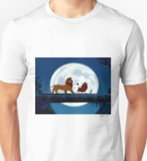 Simba, Pumba, and Timon  Unisex T-Shirt