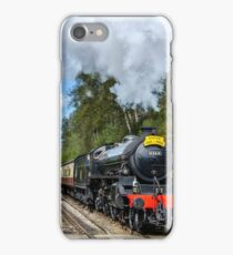 Ariving at Goathland railway station iPhone Case/Skin