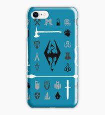 Skyrim: Symbol Collection iPhone Case/Skin