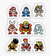 HEROES AND VILLAINS v1 Sticker