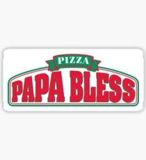 papa bless Sticker