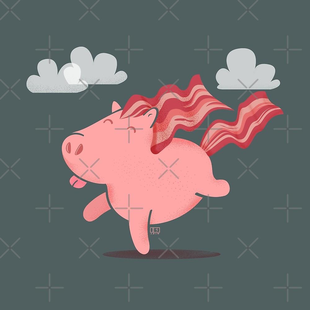 Bacon Horse by Dan Simon
