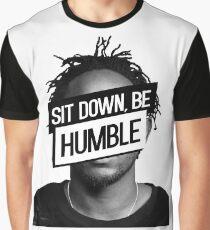 Kendrick Lamar- Sit Down, Be Humble Graphic T-Shirt