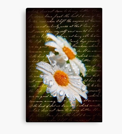 Simple Love.... Canvas Print