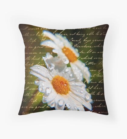Simple Love.... Throw Pillow