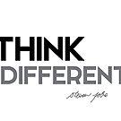 think different - steve jobs by razvandrc