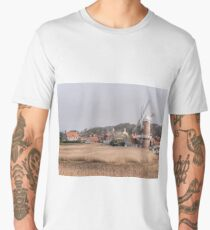"""""""Cley Windmill Early Spring"""" Men's Premium T-Shirt"""