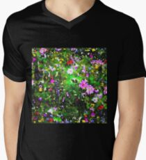 Stained Glass Wildflowers 1 by IdeaJones T-Shirt
