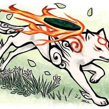 Okami wolf run by jccat