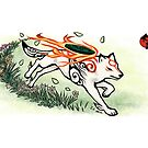 Okami wolf run by jccat