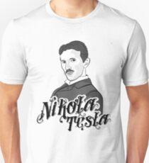 NIkola Tesla Illustration Unisex T-Shirt