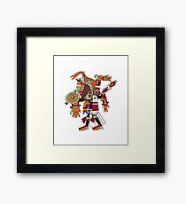 Elite Warrior Framed Print