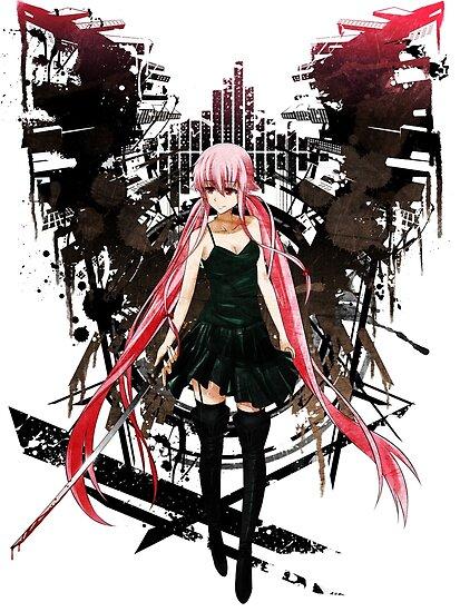 Quot Gasai Yuno Anime Future Desolation Anime T Shirt Quot Posters