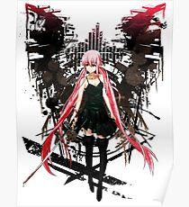 Gasai Yuno Anime Future Desolation Anime T-shirt Poster