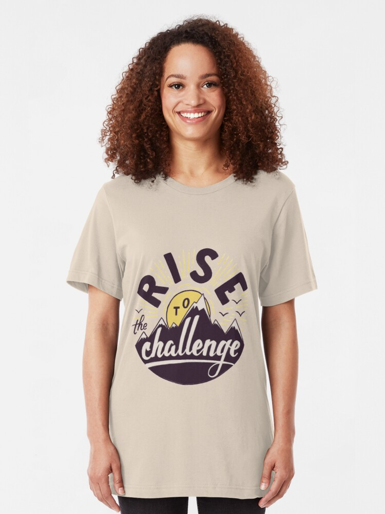 Alternate view of Rise to the challenge Slim Fit T-Shirt