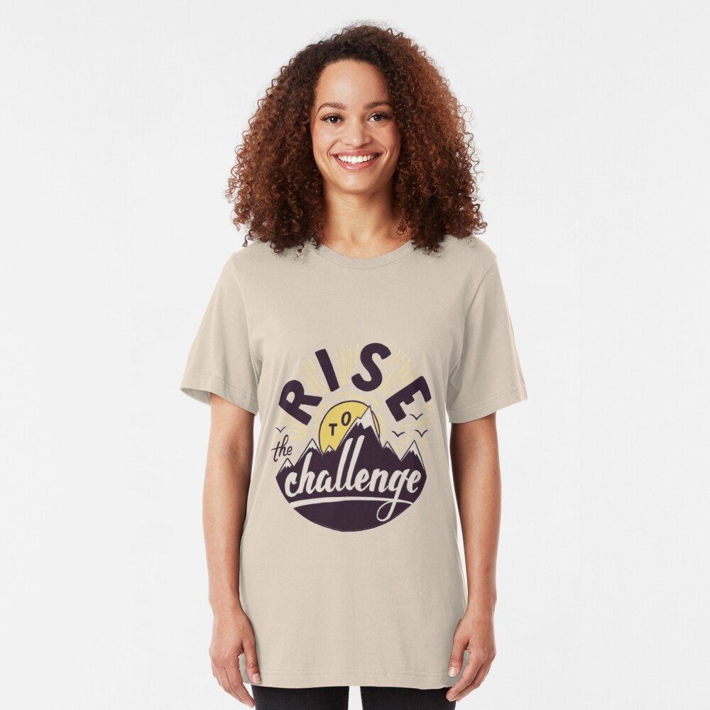 Rise to the challenge Slim Fit T-Shirt