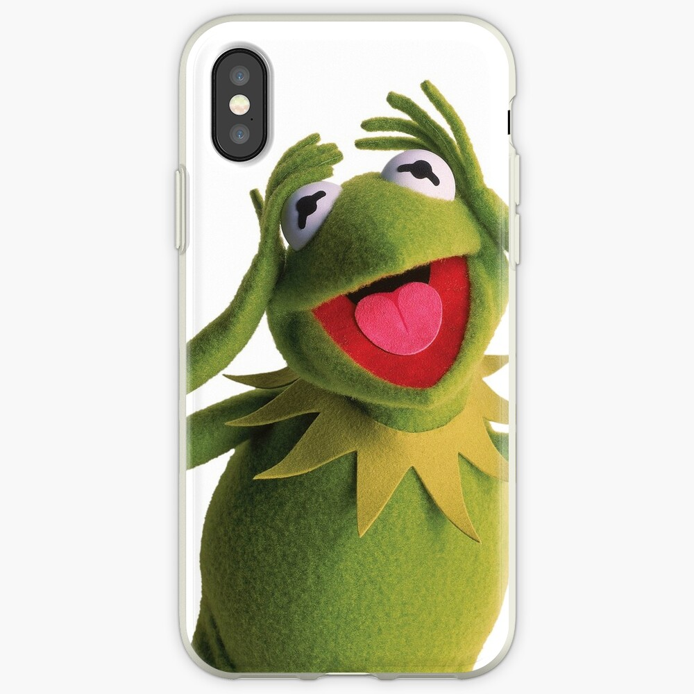 Kermit The Frog (Muppets) Vinilos y fundas para iPhone