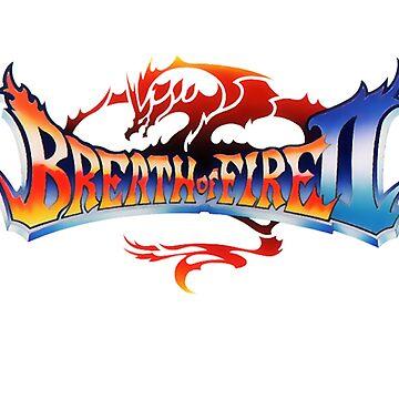 Breath of Fire II Logo by CDSmiles