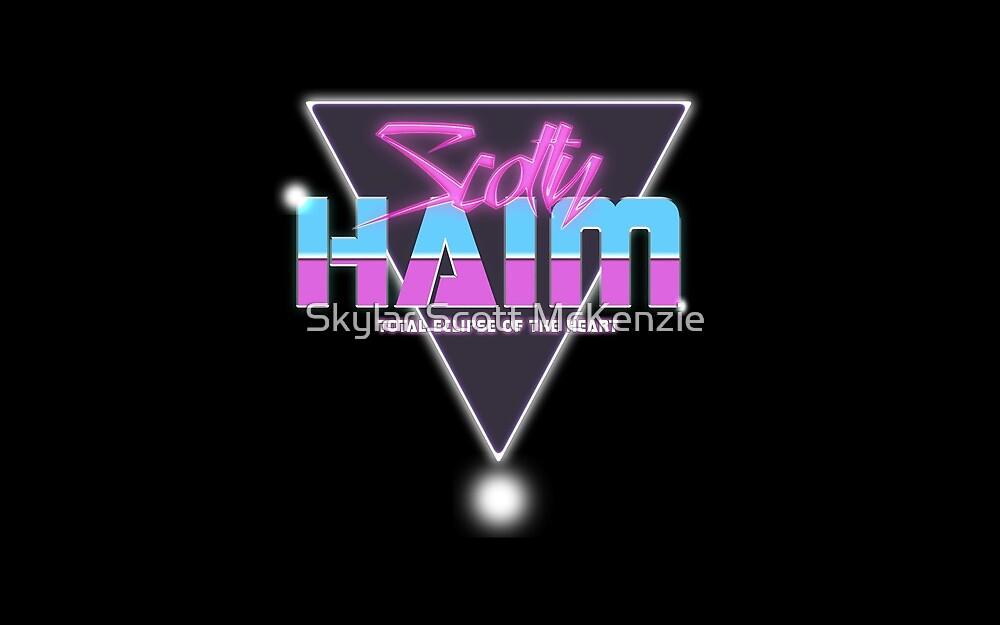 Scotty Haim - Total Eclipse by stevencraigart